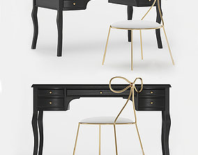 3D The Emily and Meritt Lilac Desk