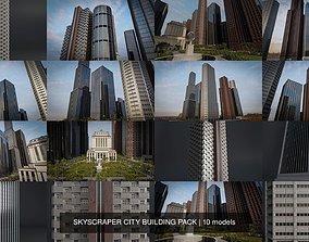 SKYSCRAPER CITY BUILDING PACK 3D