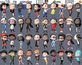 characters 2 05 3D model