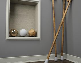 3D model Walking stick