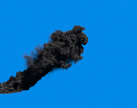 FumeFx- Large Scale High detalied Smoke 3D asset