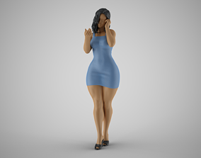3D printable model Woman Wants Peace