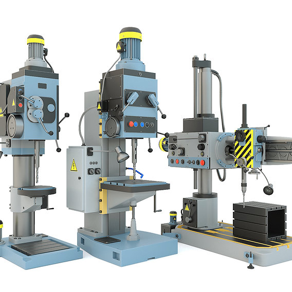 Machine tool drilling press machines - Collection