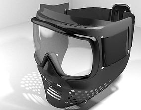 3D model Paintball Facemask - Type 1