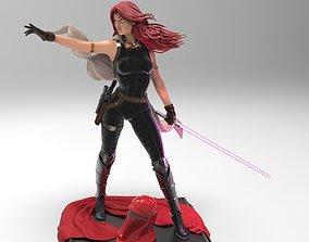 3D printable model Star Wars Mara Jade