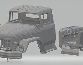ZIL 131 Printable Cabin Truck - Soviet Union