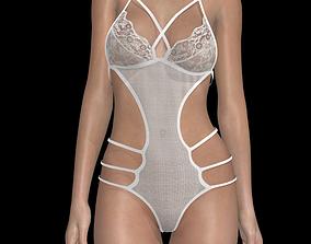 Sexy woman lingerie 01 3D asset
