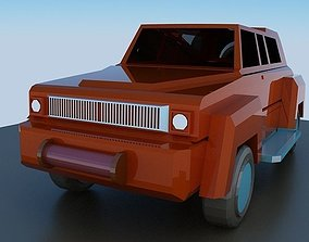 tire realtime Jeep 3d model