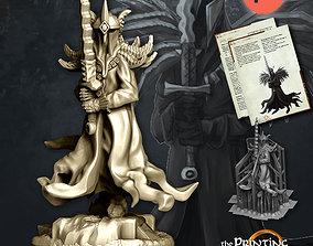 3D printable model Dark King - Presupported