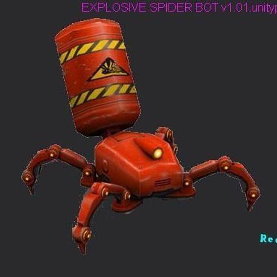 EXPLOSIVE SPIDER BOT v1.01.unitypackage