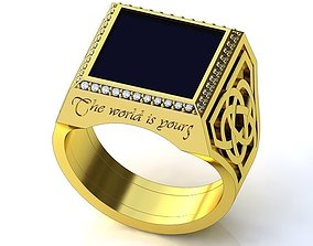 Ring BK183 3D print model