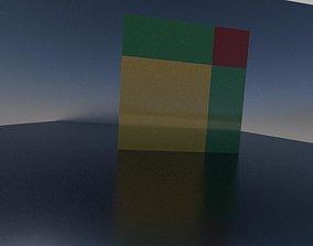 Newton s binomial formula in the square 3D print model