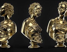 3D printable model Charles Cordier African-Venus