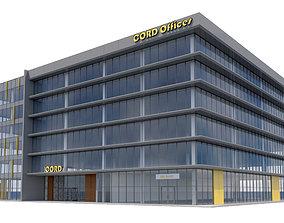 3D Commercial Building-010 Office Building