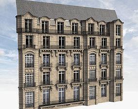 3D Parisian Facade