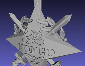 3D printable model Official Congo polish star decoration