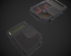 Data Disk Hard Drive 3D asset