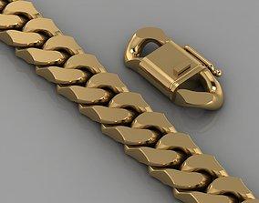 cuban bracelet 0119 3D print model