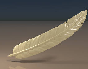 Feather 3D print model