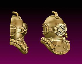 3D print model Diving Helmet Pendant