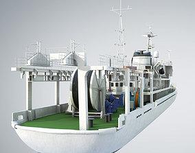 3D model Researchb Servey Vessel