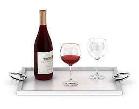 3D Wine set