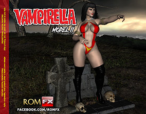Vampirella Model 2 - Figure Printable