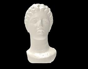 Marble Head of a Goddess 3D print model