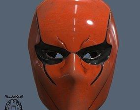 female 3D print model Red Hood Helmet Female
