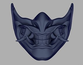 Sub Zero Samurai mask from Mortal Kombat 3D print model