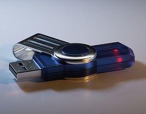 topology USB Pendrive 3D model