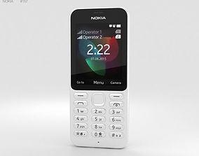 Nokia 222 White 3D electronics