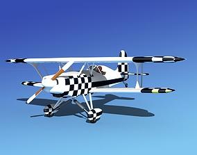 3D model rigged Stolp Starduster SA100 V21