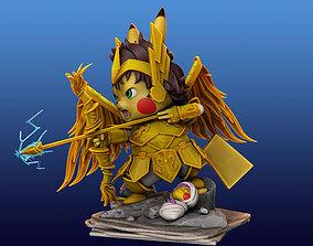 Pikachu Knight of the Zodiac Aiolos 3D print model