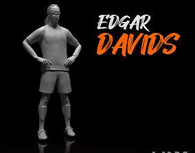 Davids Edgar Footballer Stl file 3d Model