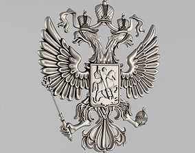 3D printable model The emblem of Russia