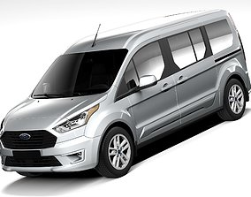 Ford Transit Connect Wagon 2019 3D model