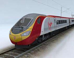 British Rail Class 390 Pendolino 3D model