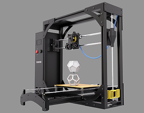 3D Printer photorealistic