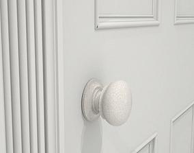 door knob crackle glaze 3D model