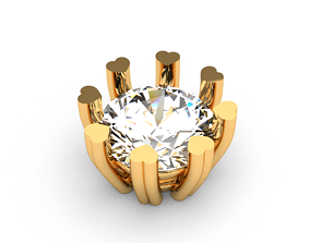 A package of solitaire ring heads engagement 8 2