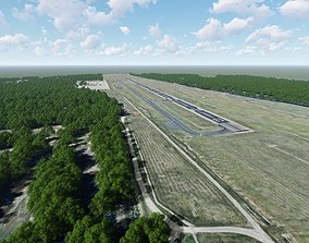 3D model Grand Strand Airport South Carolina