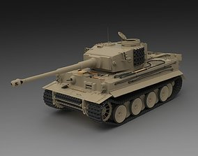 PzKpfw VI Ausf H1 Tiger Early Production 3D model