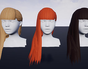 Hairstyle 5 3D model