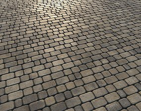 3D asset Paving slabs 03