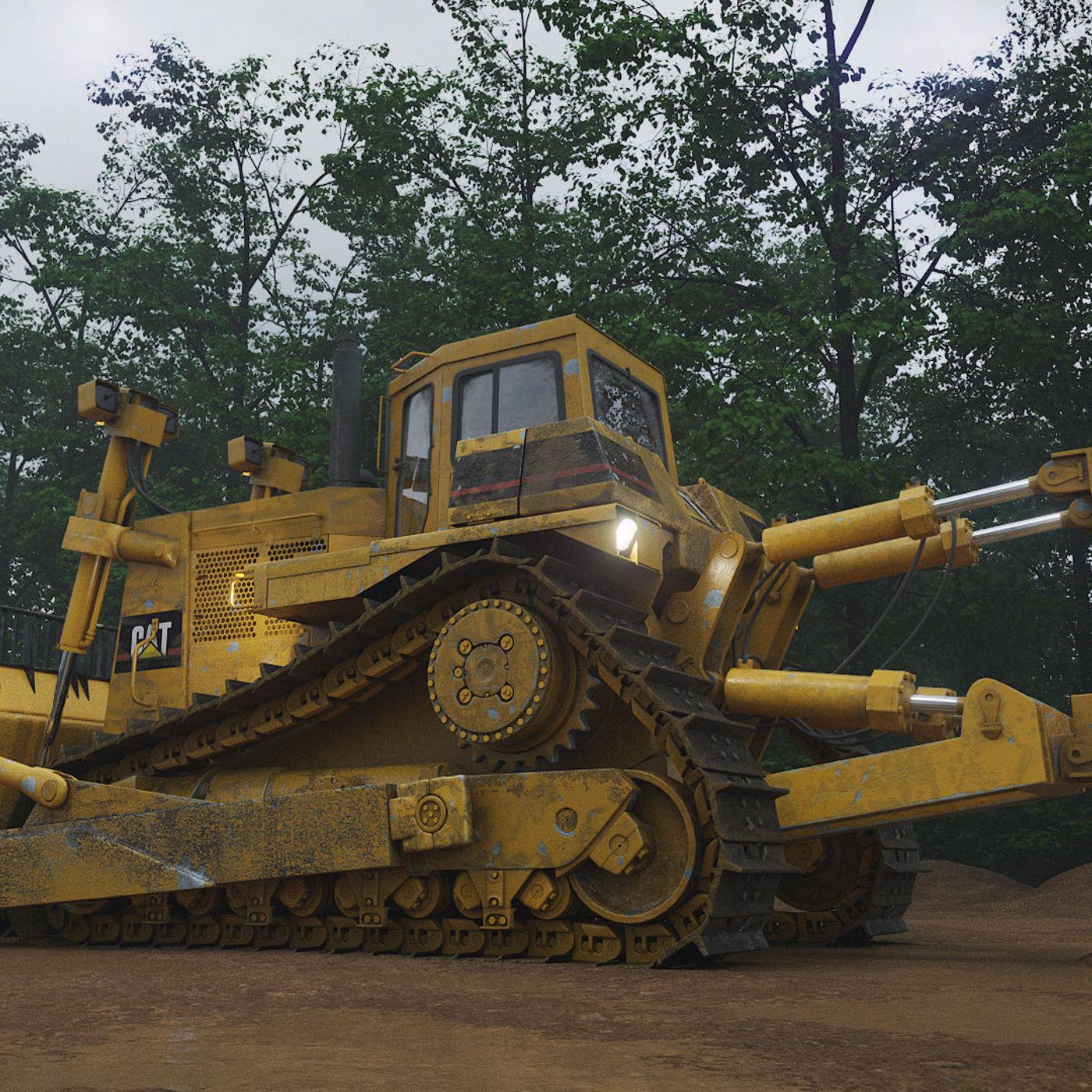 Caterpillar D-10