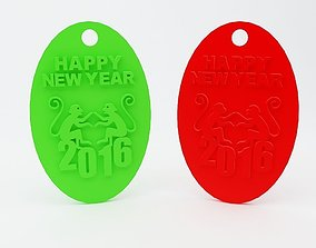 gadgets year Year of the Monkey 3D printable model
