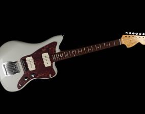 Fender JazzMaster Cream 3D model