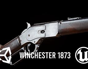 FPS Winchester 1873 3D model VR / AR ready