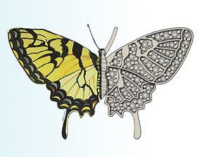 3D printable model Butterfly New Idea Pendant
